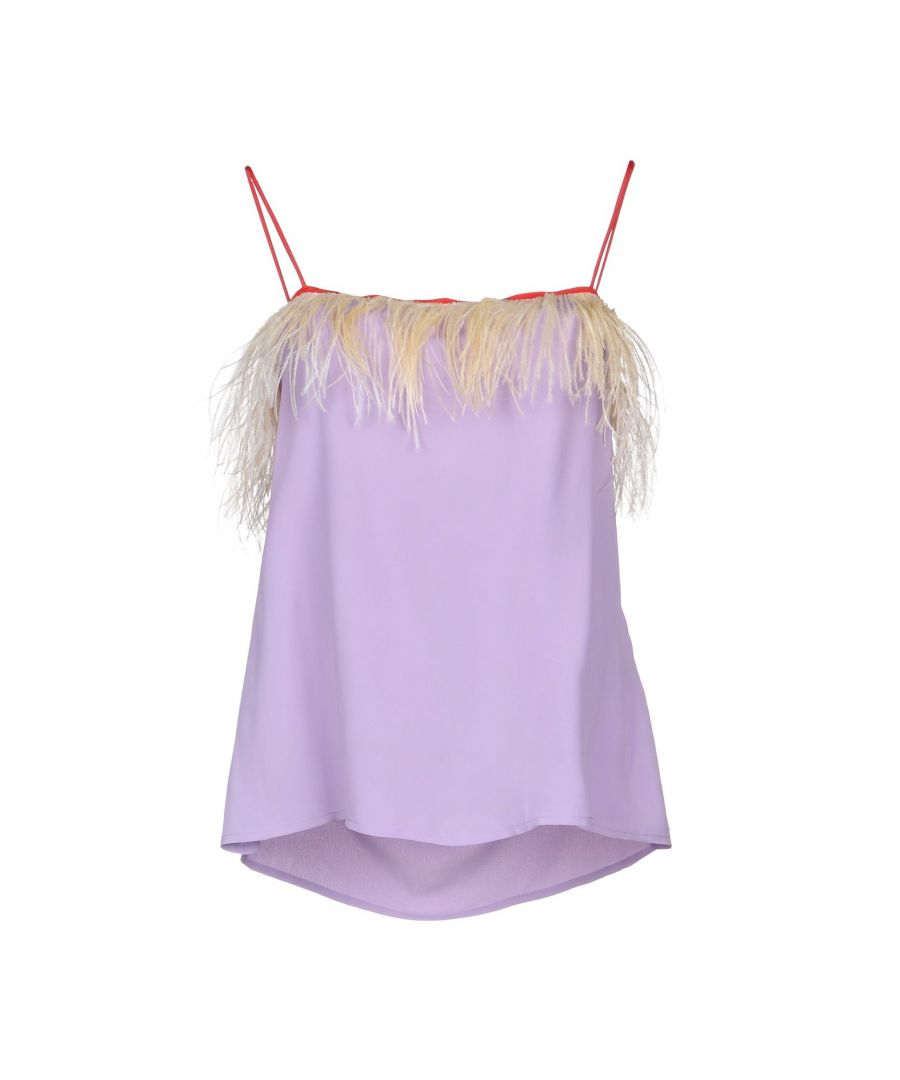 Image for Jucca Lilac Feathered Camisole