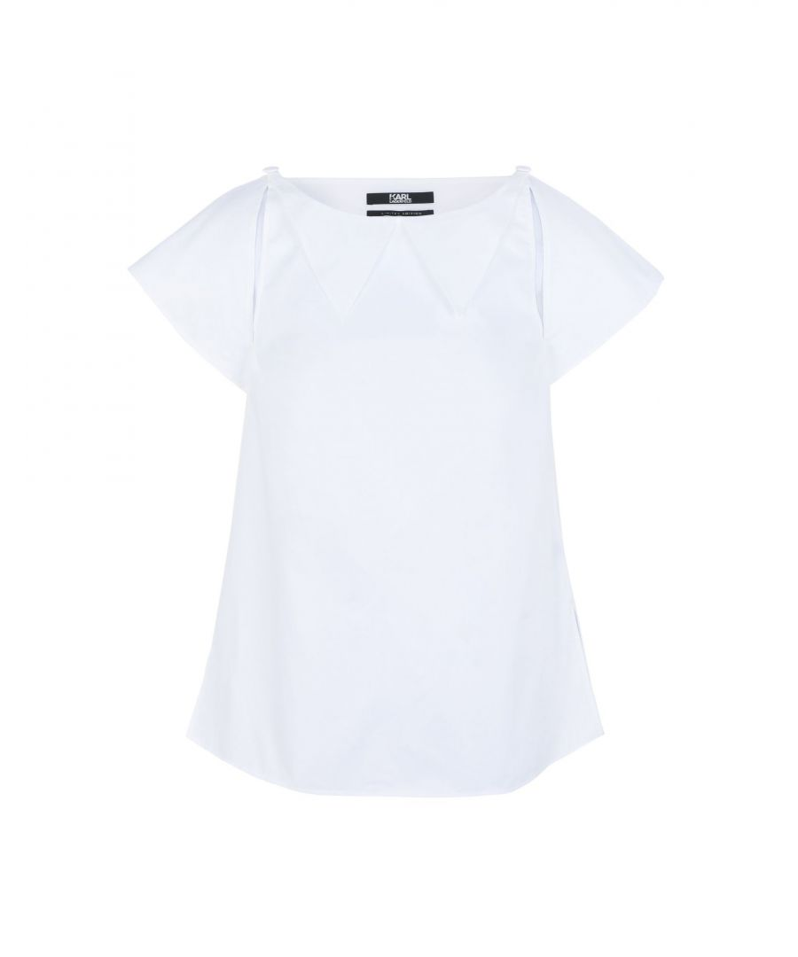 Image for SHIRTS Karl Lagerfeld White Woman Cotton