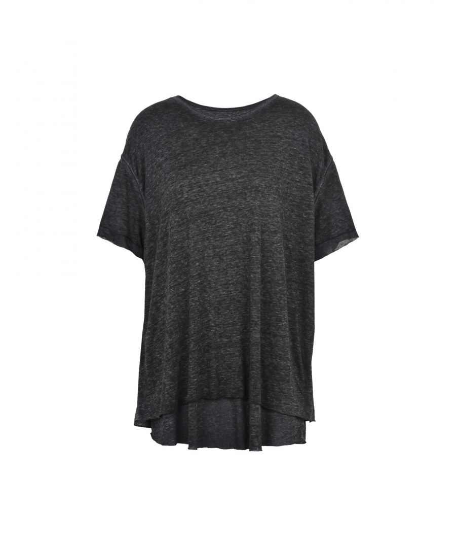 Image for Free People Steel Grey T-Shirt