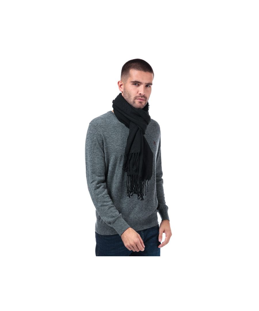Image for Accessories Jack Jones Woody Woven Scarf in Black