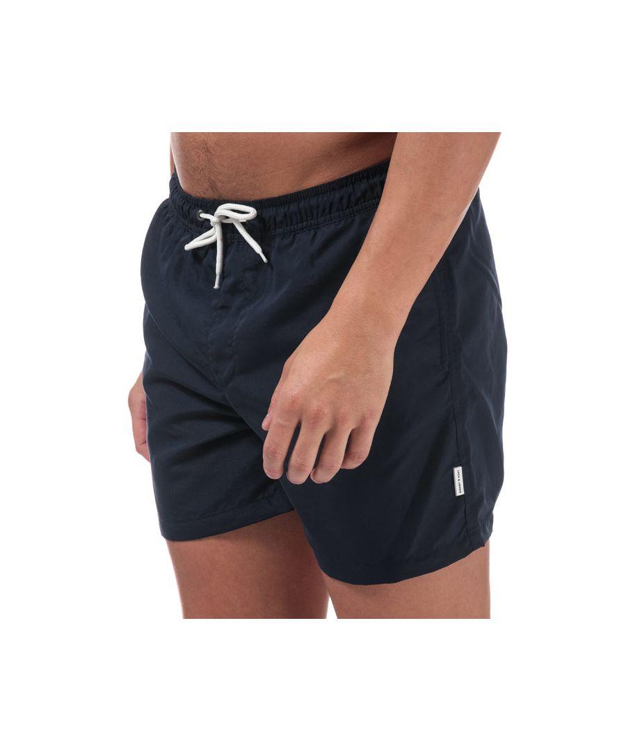 Image for Men's Jack Jones Mailbu Solid Swim Shorts in Navy