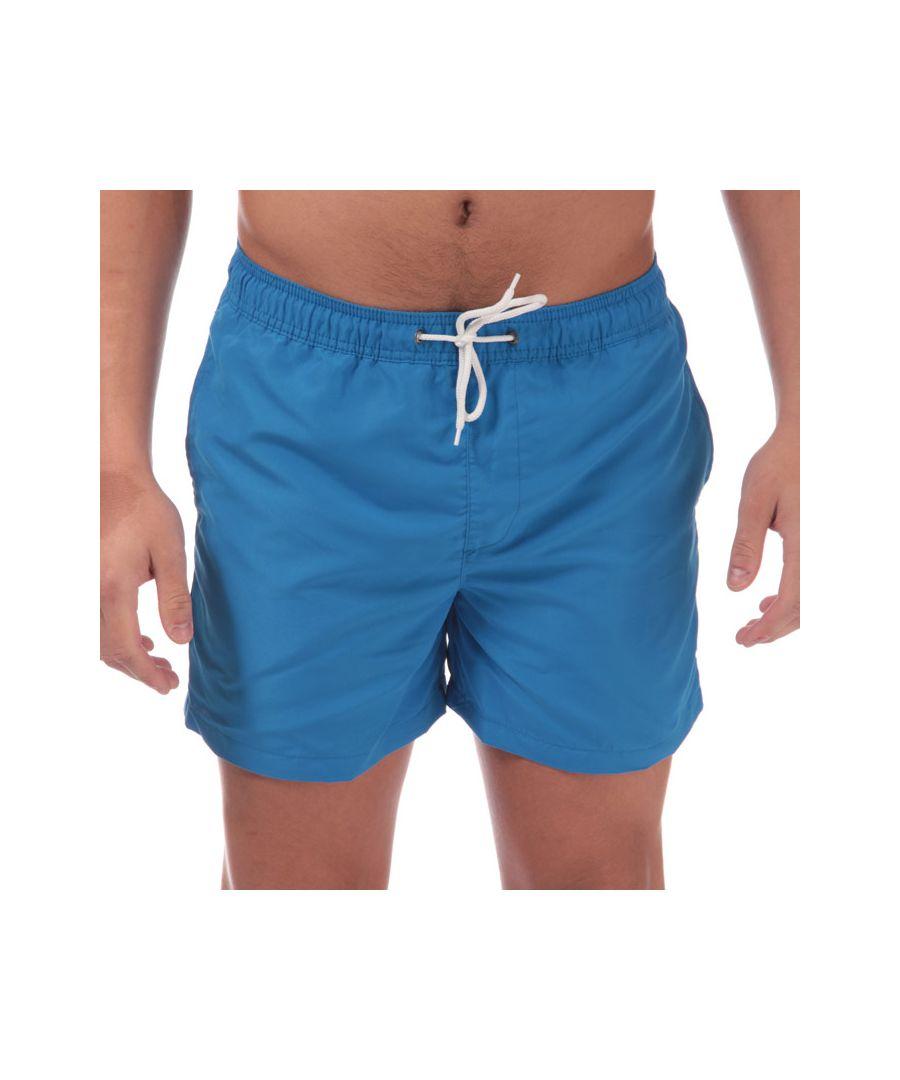Image for Men's Jack Jones Mailbu Solid Swim Shorts in Blue