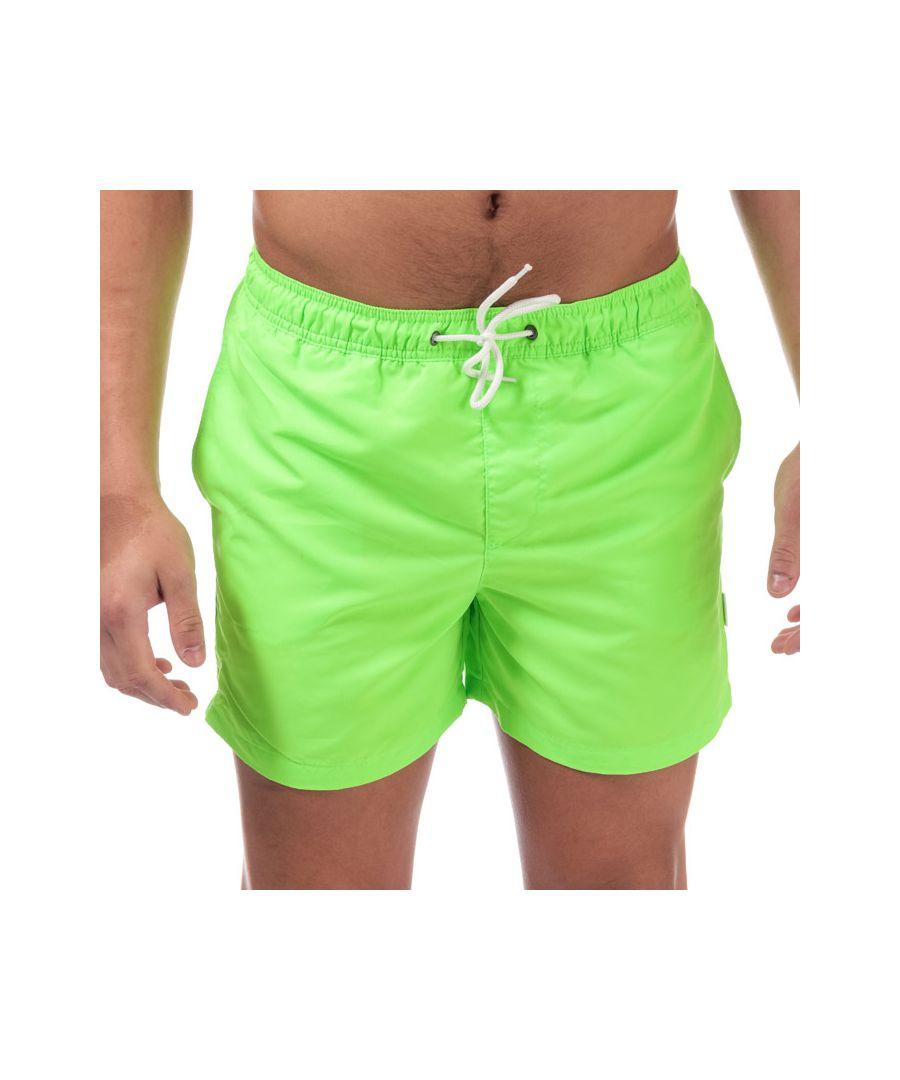 Image for Men's Jack Jones Mailbu Solid Swim Shorts in Green
