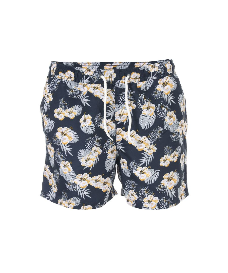 Image for Men's Jack Jones Maibu Floral Swim Shorts in Navy