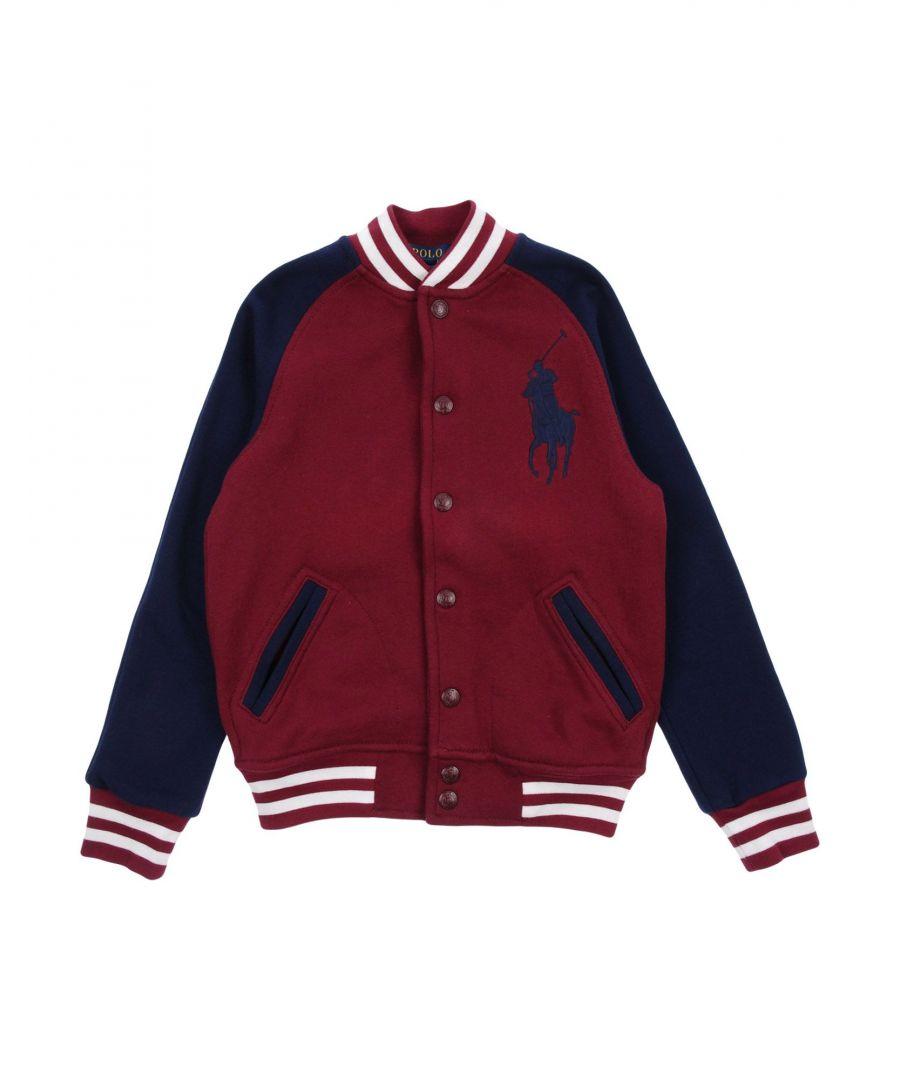 Image for TOPWEAR Boy Ralph Lauren Maroon Cotton