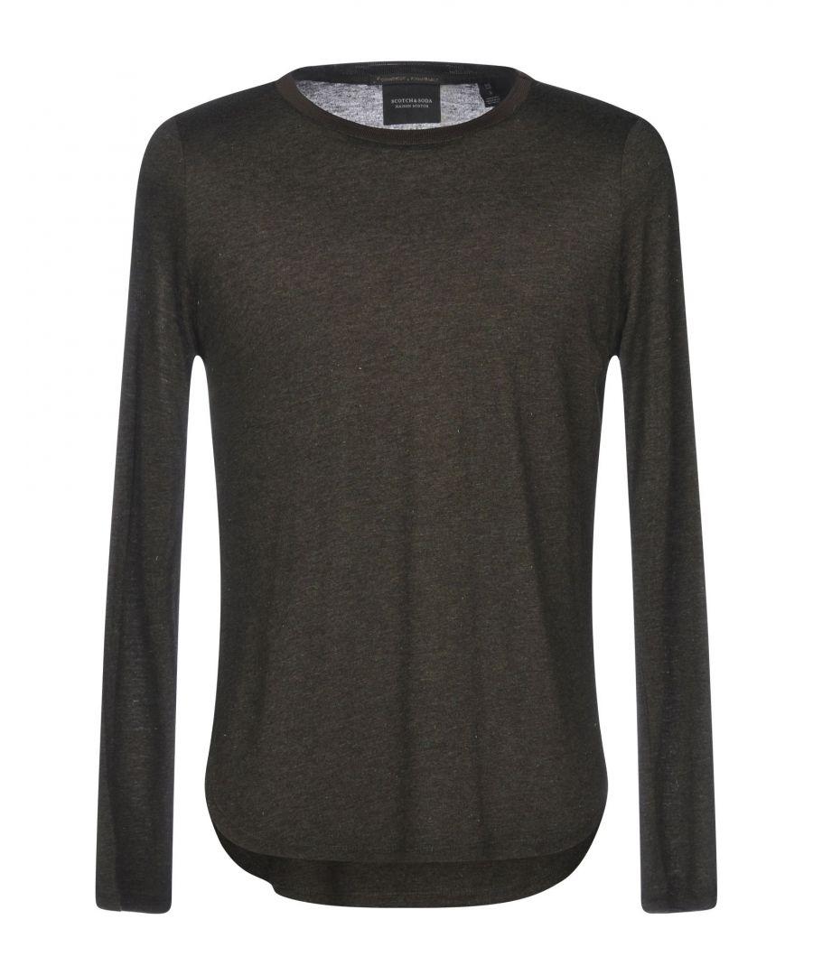 Image for Scotch & Soda Military Green Jersey Long Sleeve T-Shirt