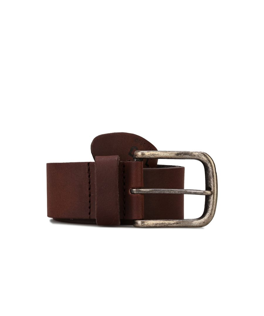 Image for Accessories Jack Jones David Leather Belt in Brown