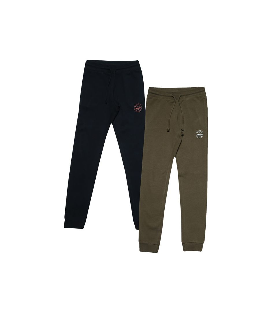 Image for Boys' Jack Jones Junior More 2 Pack Jog Pants in Navy