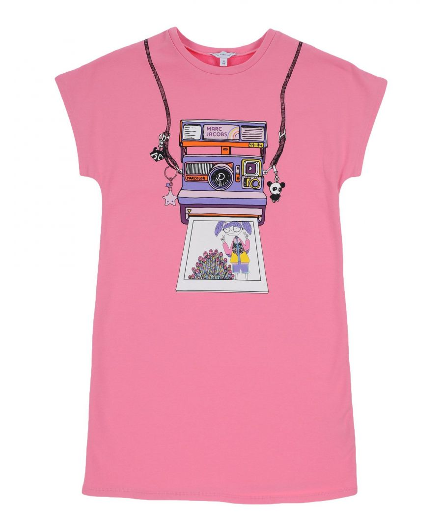 Image for DRESSES Little Marc Jacobs Pink Girl Cotton