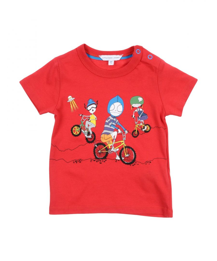 Image for TOPWEAR Little Marc Jacobs Red Boy Cotton
