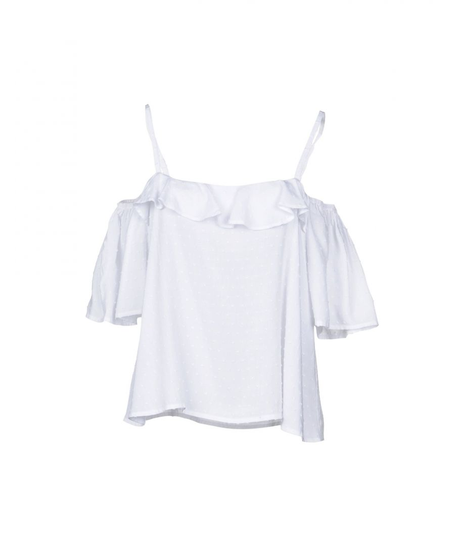 Image for Louche White Viscose Bluse