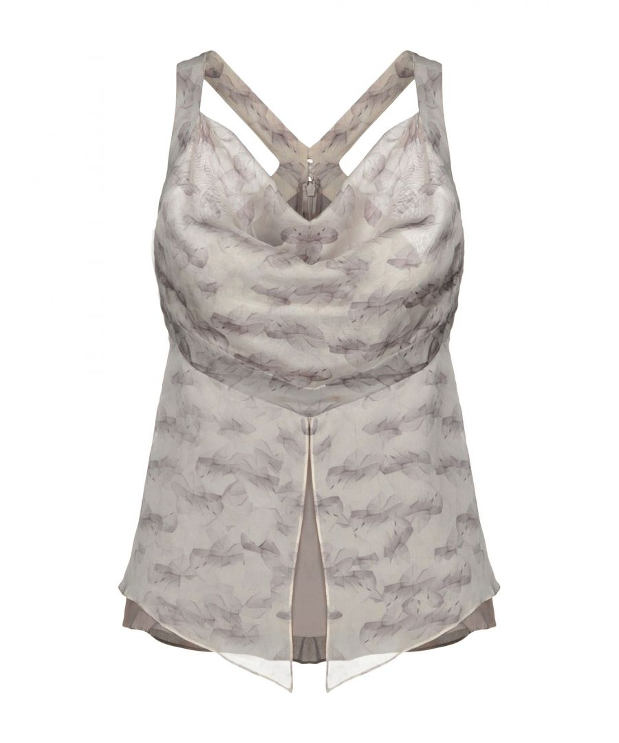Image for TOPWEAR Woman Karl Lagerfeld Dove grey Silk