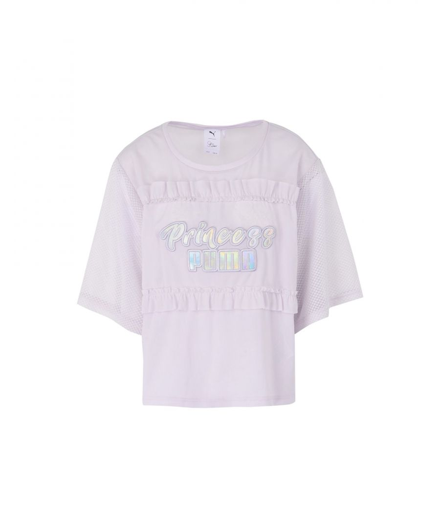Image for Puma X Sophia Webster Lilac Short Sleeve T-Shirt