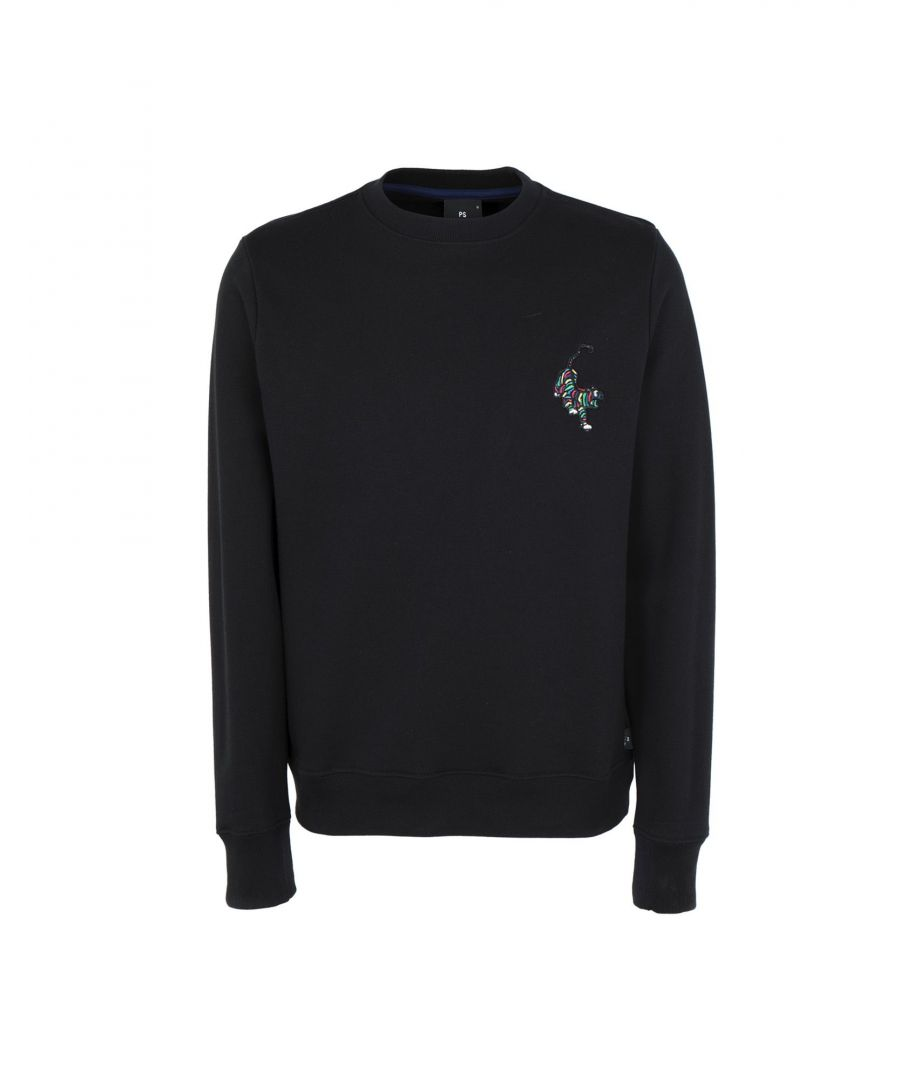 Image for Ps Paul Smith Black Organic Cotton Sweatshirt