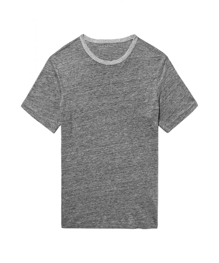 Image for Club Monaco Grey Linen T-shirts