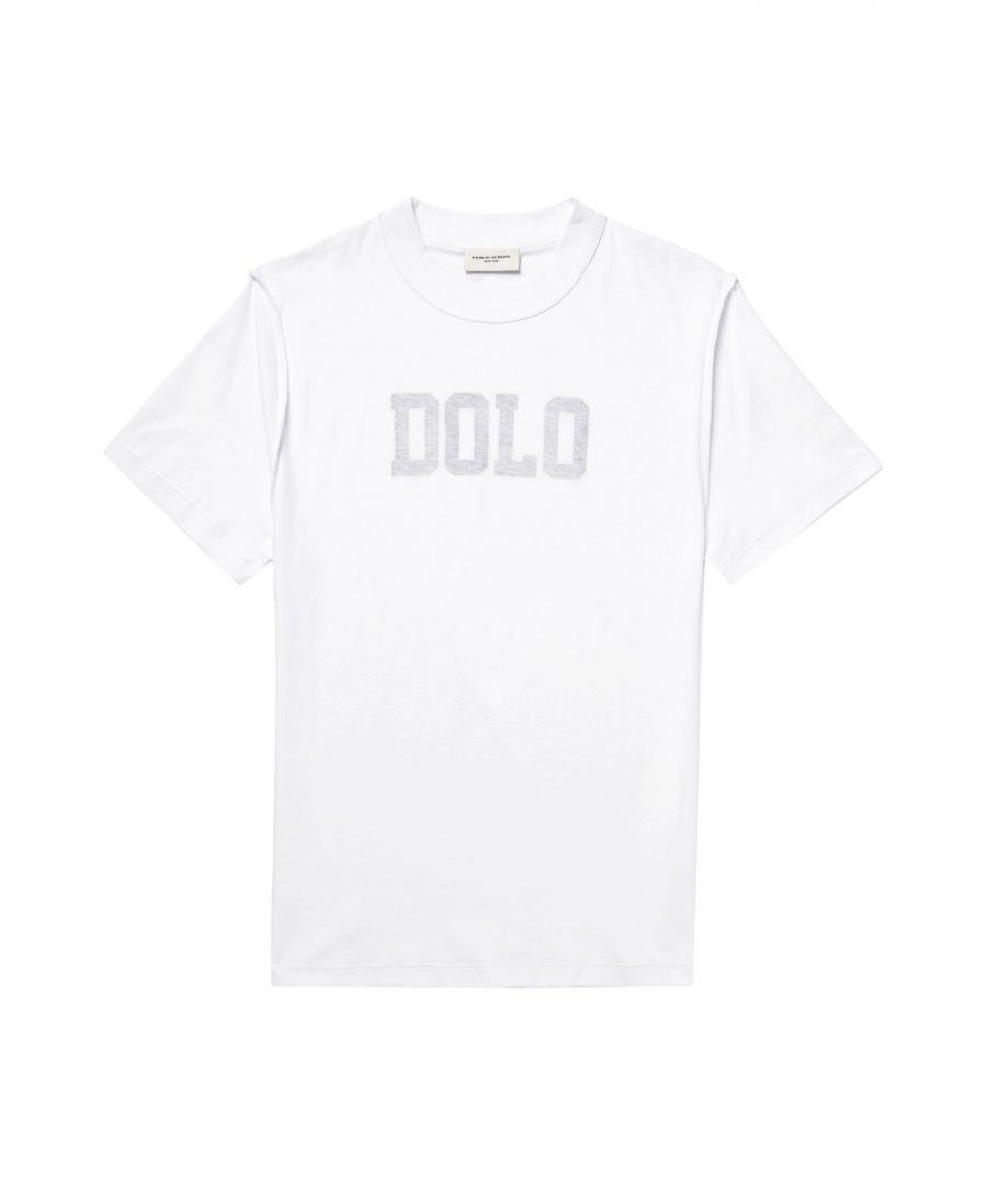 Image for Public School White Cotton T-shirts