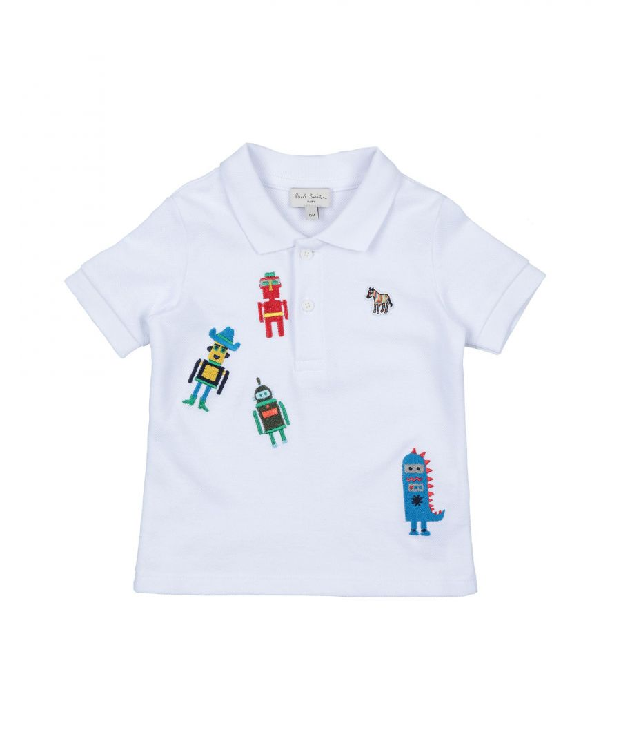 Image for TOPWEAR Boy Paul Smith White Cotton