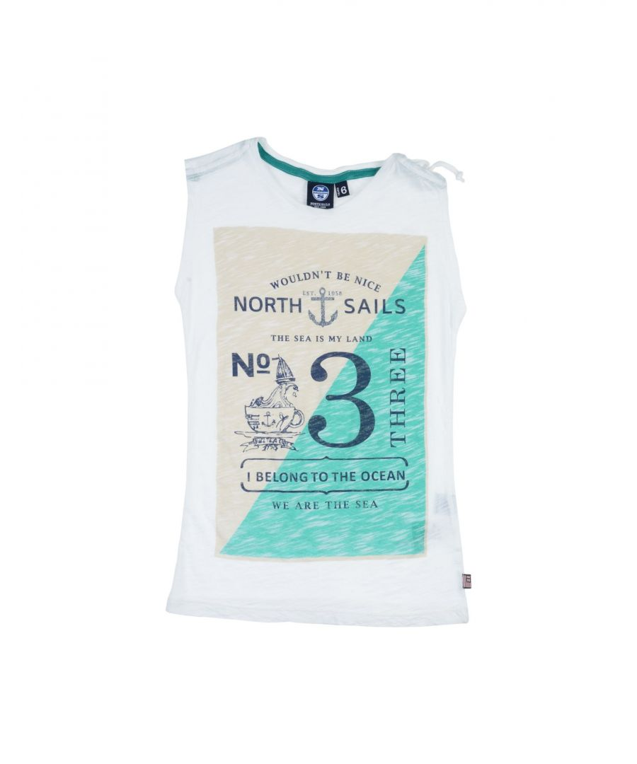 Image for TOPWEAR North Sails White Girl Cotton