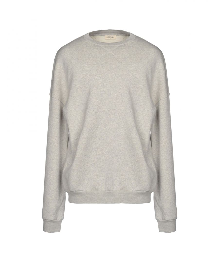 Image for American Vintage Grey Cotton Sweatshirt