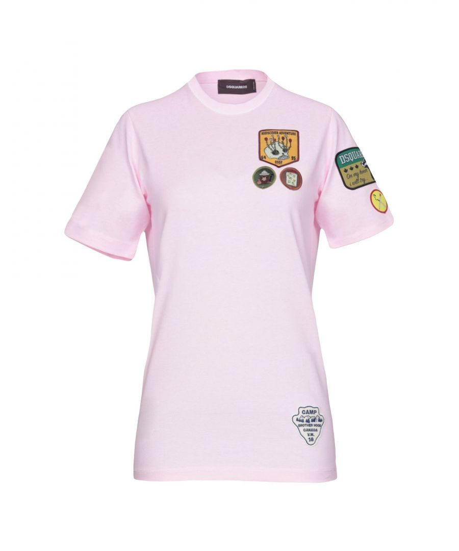 Image for Dsquared2 Pink Cotton T-Shirt