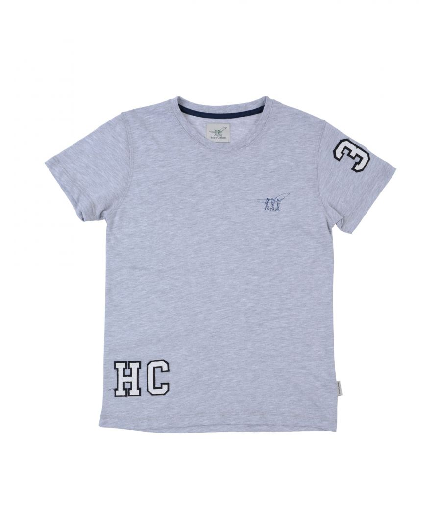 Image for TOPWEAR Henry Cotton'S Light grey Boy Cotton