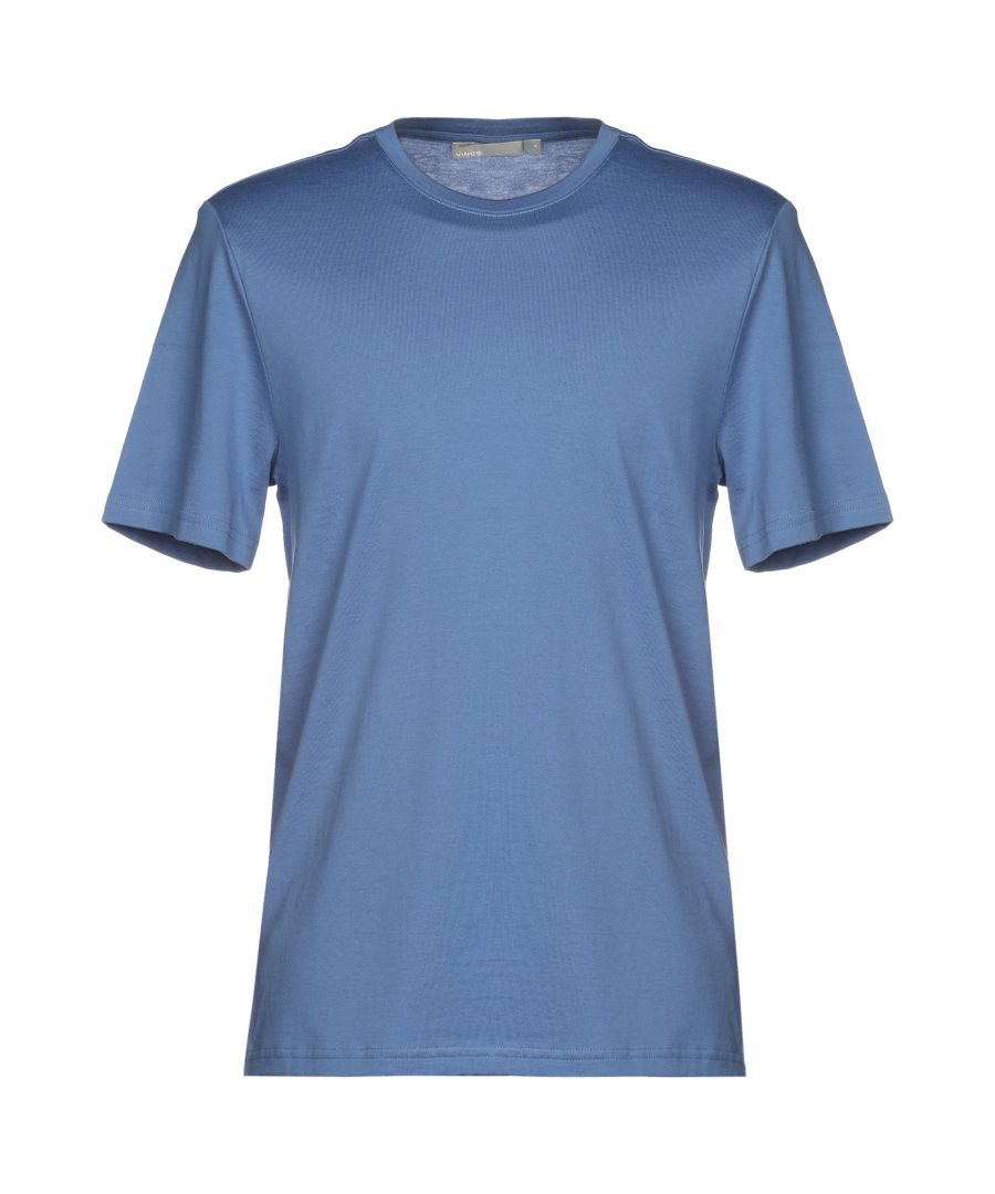 Image for Vince. Pastel blue Cotton T-shirts