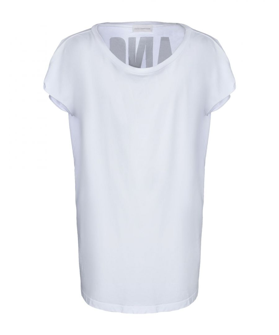 Image for Faith Connexion White Cotton T-Shirt