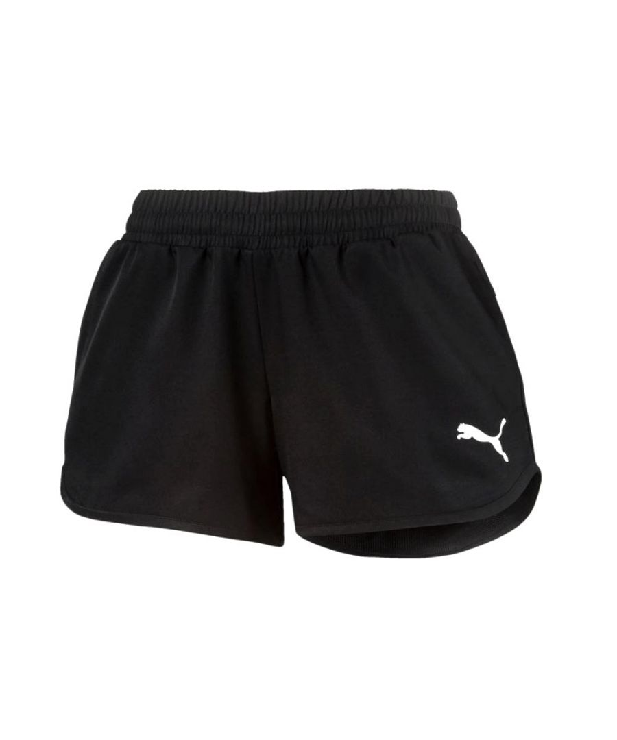 Image for Puma Active Girls Short Black - 15-16 Years