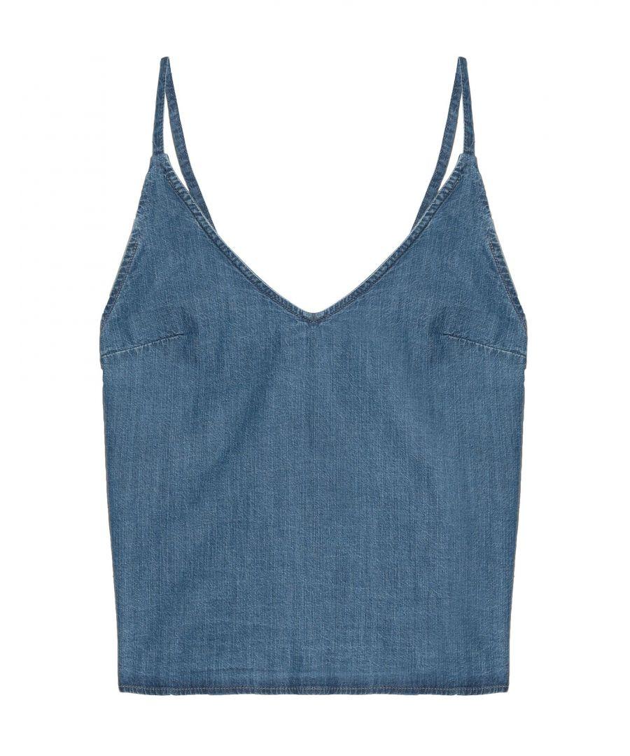 Image for 3X1 Blue Denim Camisole