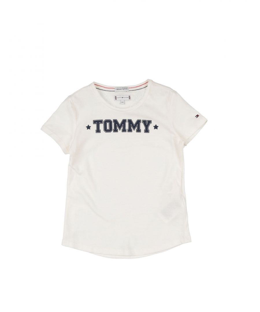 Image for TOPWEAR Girl Tommy Hilfiger White Cotton