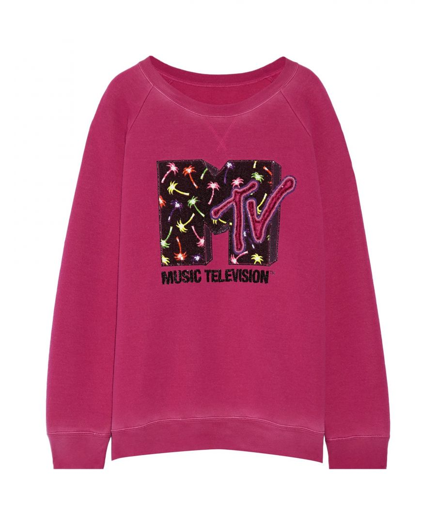 Image for Marc Jacobs Woman Sweatshirts Fuchsia Wool