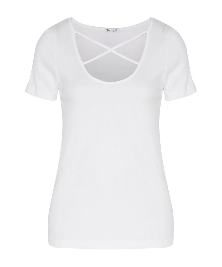 Image for Splendid White Modal T-shirts