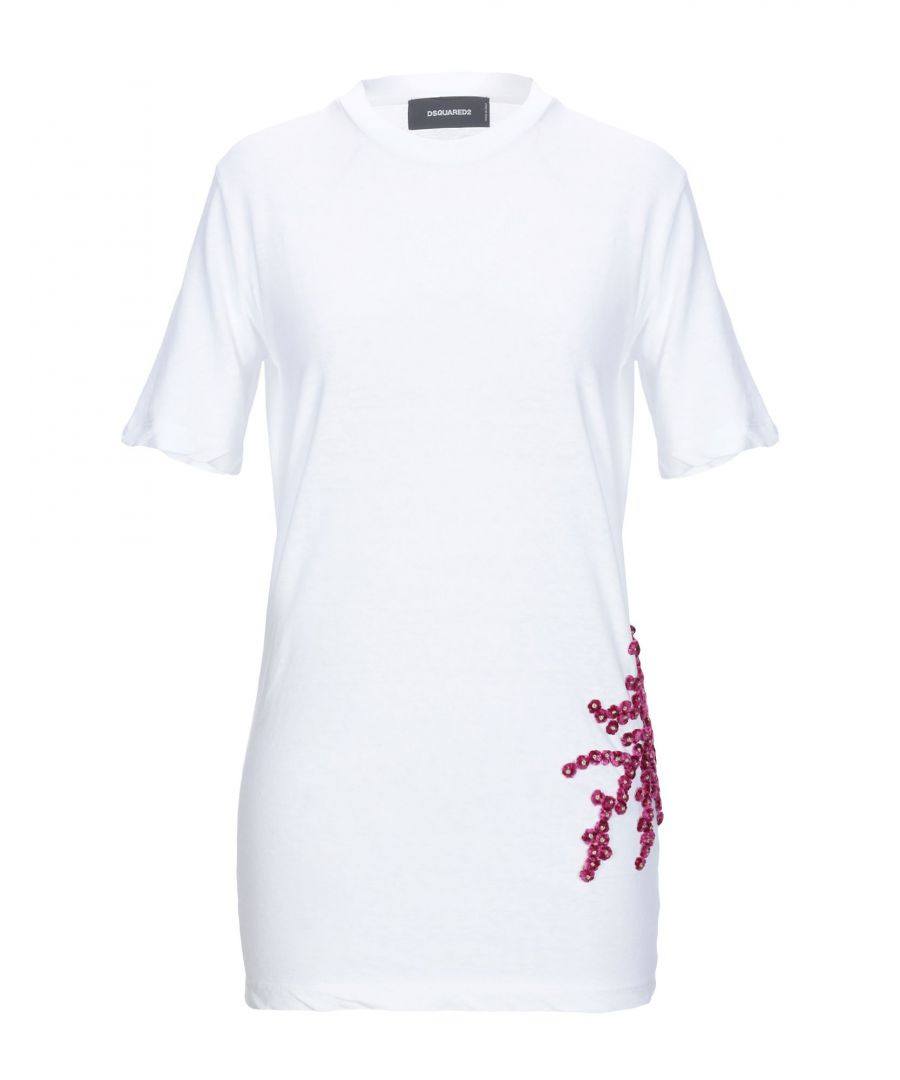 Image for Dsquared2 White Cotton T-shirts