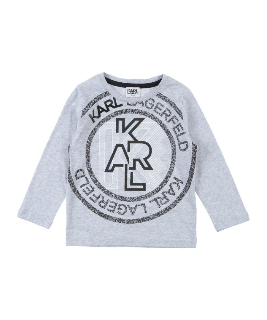 Image for TOPWEAR Boy Karl Lagerfeld Light grey Cotton