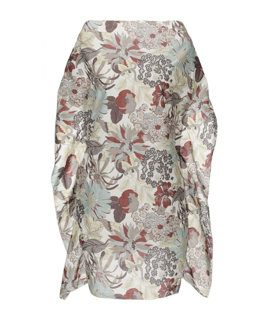 Image for Shirtaporter Woman Tops Ivory Cotton