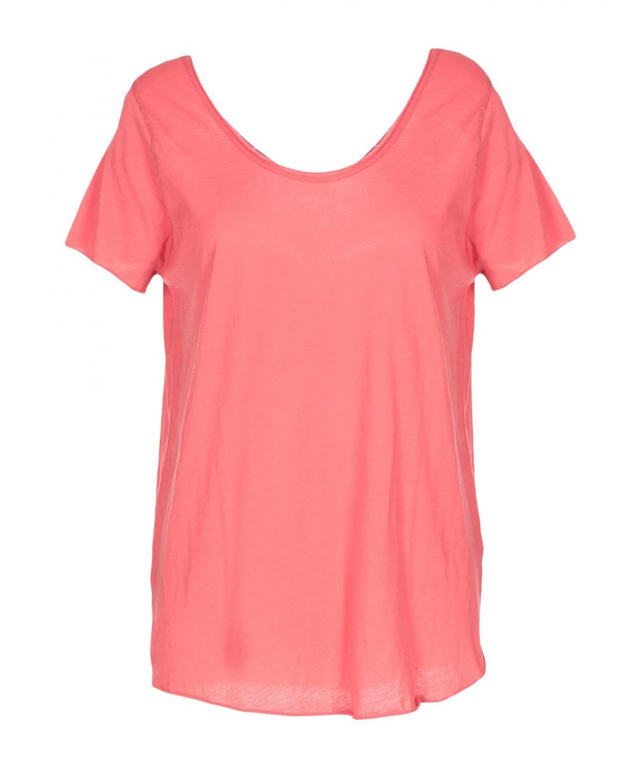 Image for American Vintage Coral SUPIMA® Cotton T-Shirt