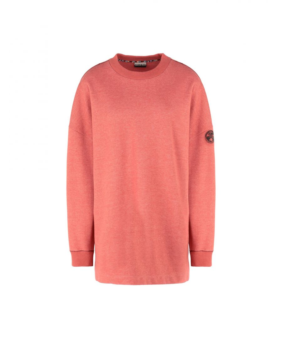 Image for Napapijri Women's Sweatshirts Coral Polyester