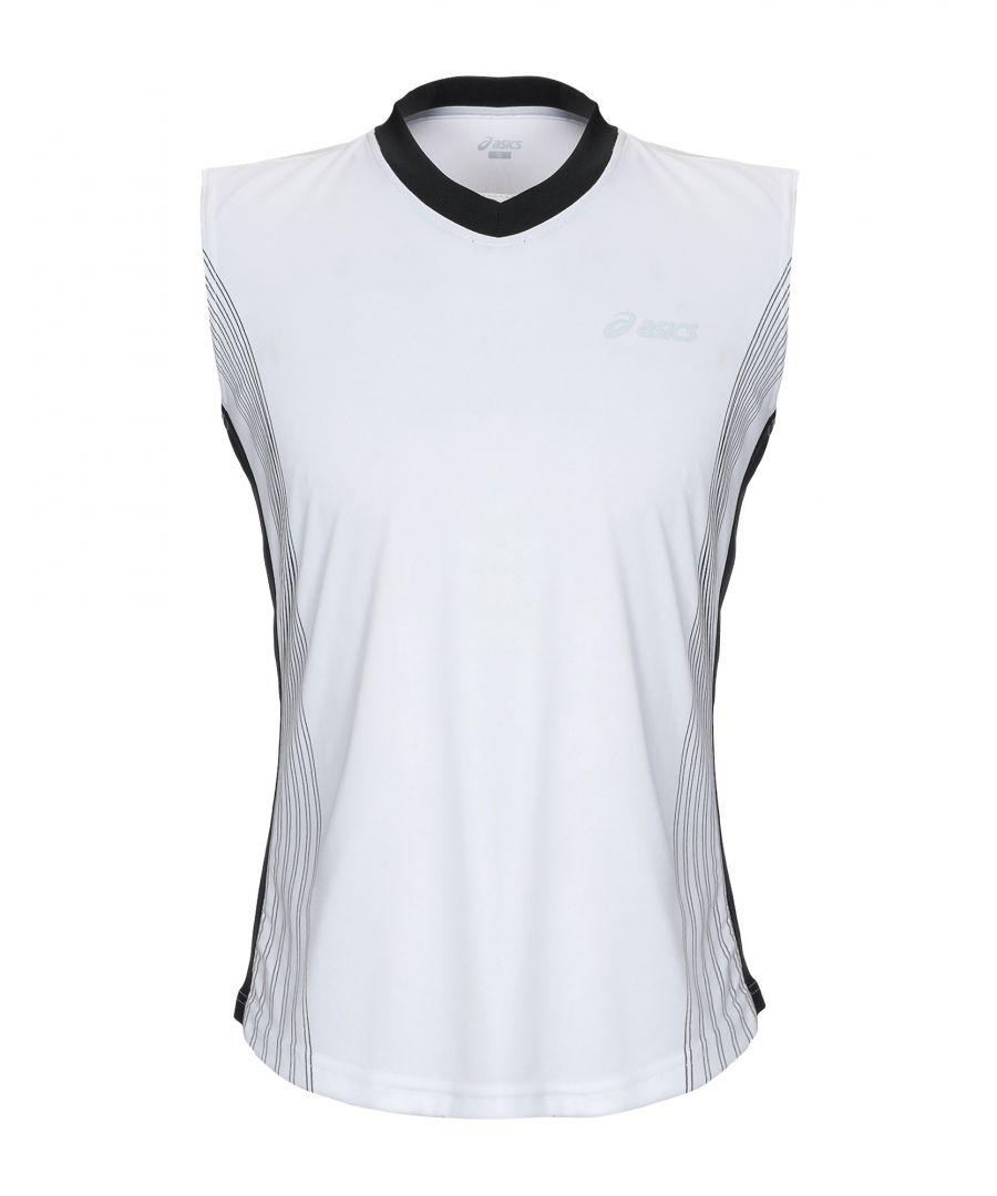 Image for Asics Man T-shirts White Polyester