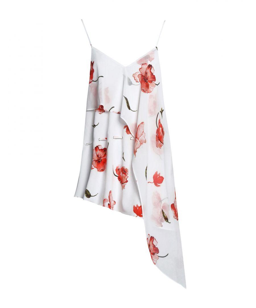Image for Haute Hippie White Floral Design Camisole