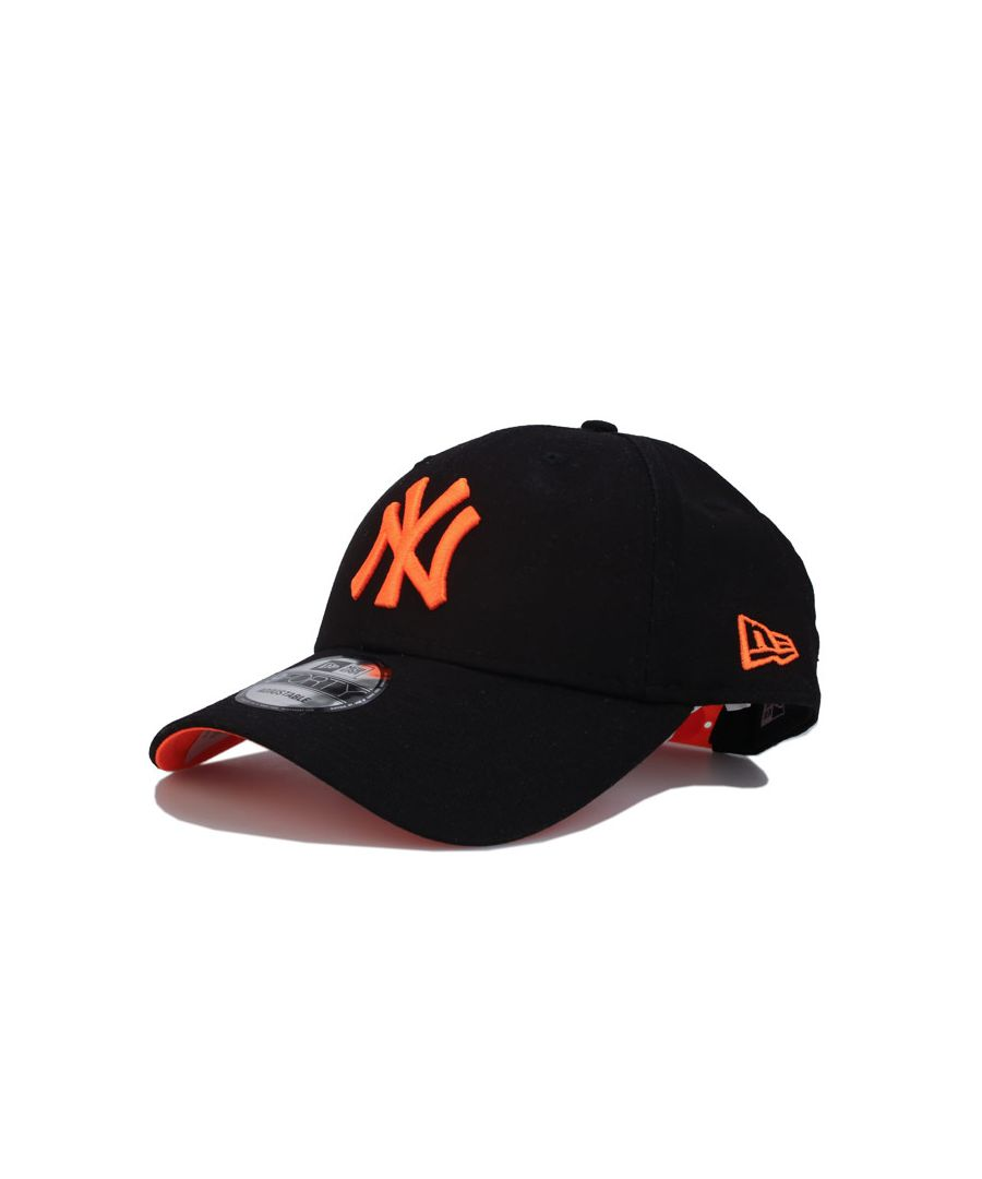 Image for Accessories New Era New York Yankees 9FORTY Cap in black orange