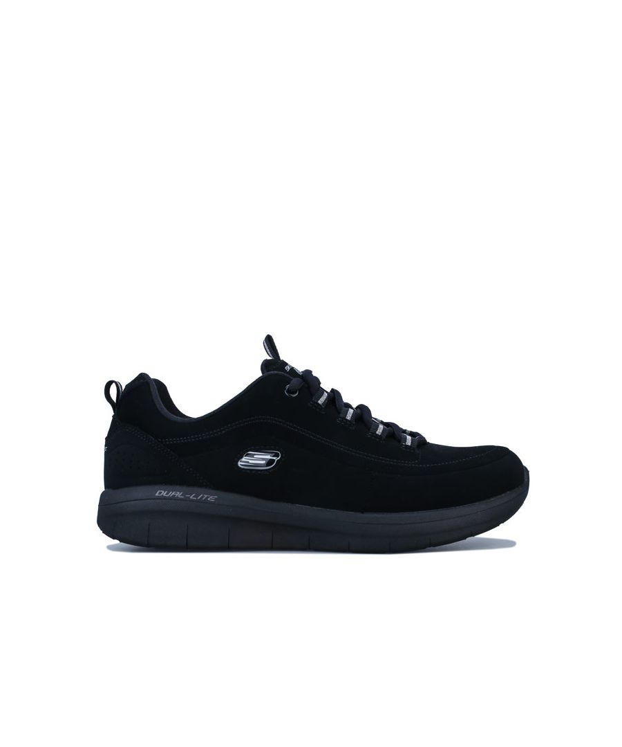 Image for Women's Skechers Synergy 2.0 Side Step Trainers in Black
