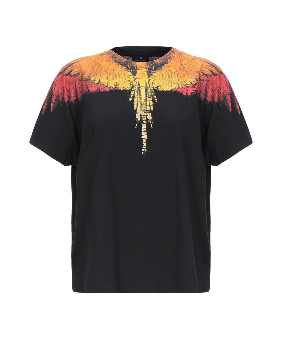 Image for Marcelo Burlon Black Cotton T-Shirt
