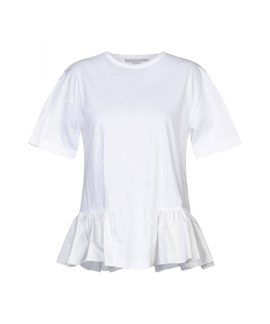Image for Stella McCartney White Cotton T-Shirt