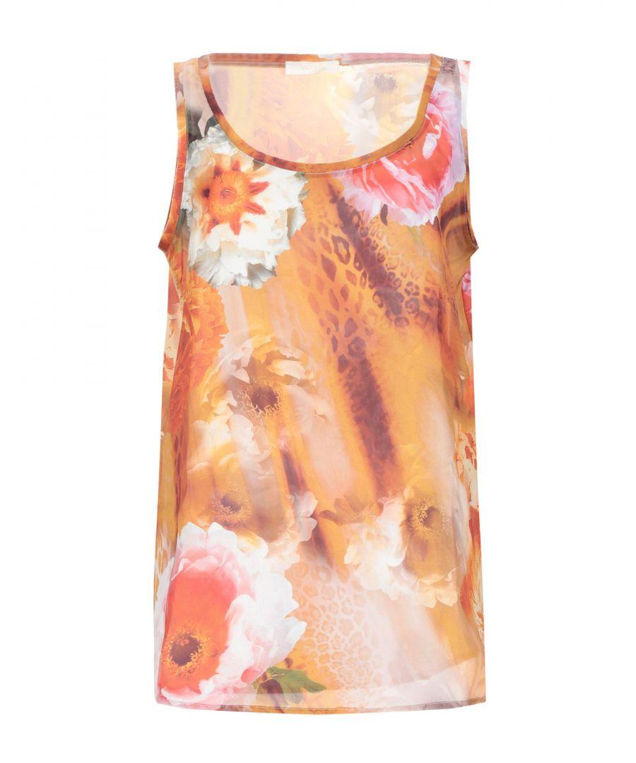 Image for TOPWEAR Woman Vicolo Orange Polyester
