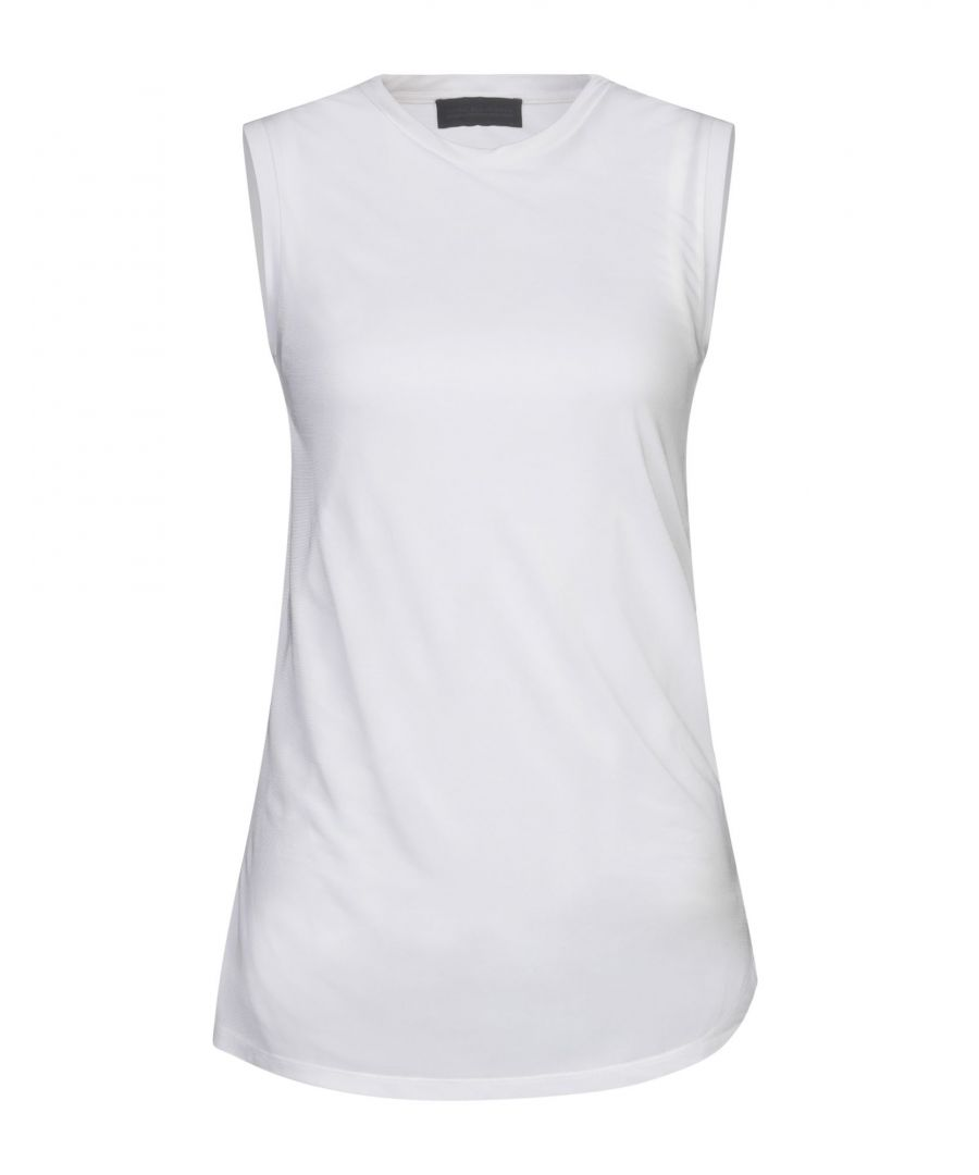 Image for Diesel Black Gold White Jersey Tank