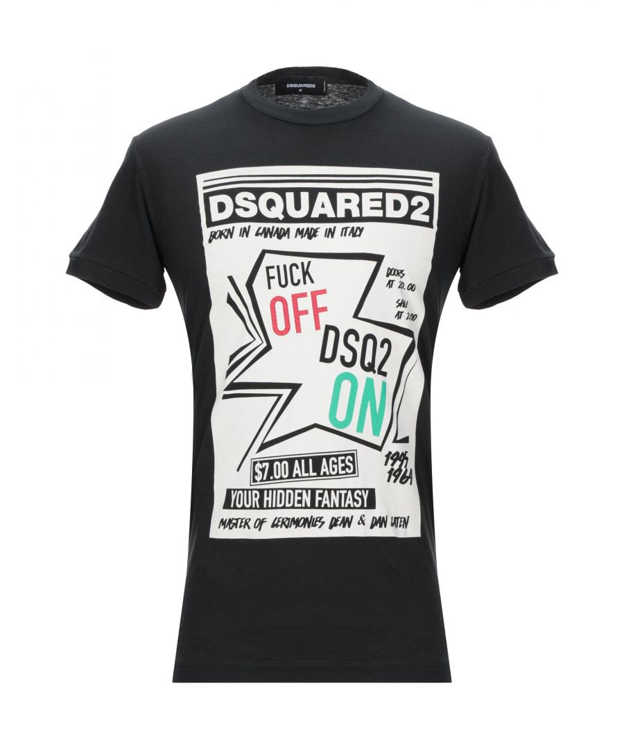 Image for Dsquared2 Black, White Cotton T-shirts