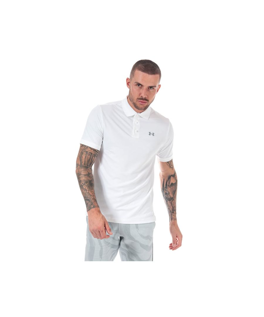 Image for Men's Under Armour UA Performance Polo Shirt in White