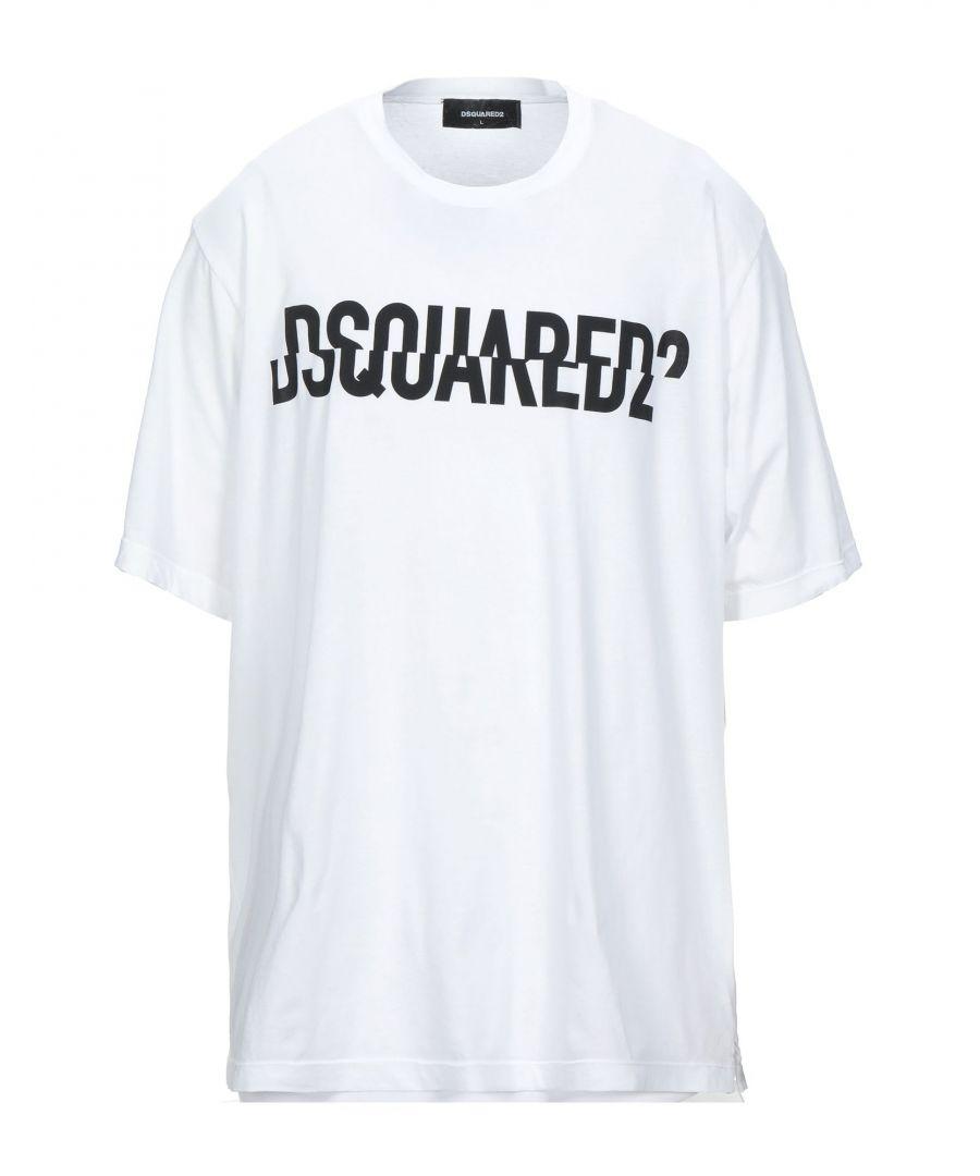 Image for Dsquared2 White Cotton Logo T-Shirt