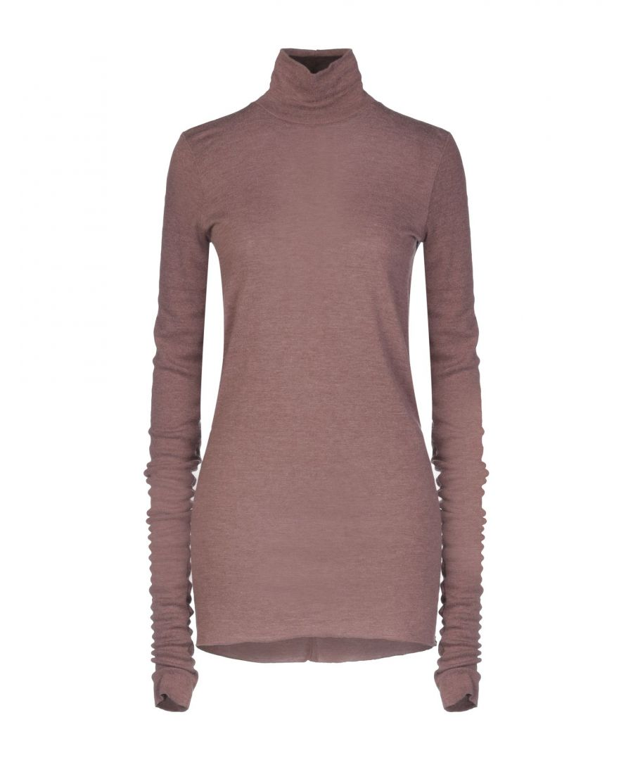 Image for Rick Owens Lilies Cocoa Long Sleeve Knit