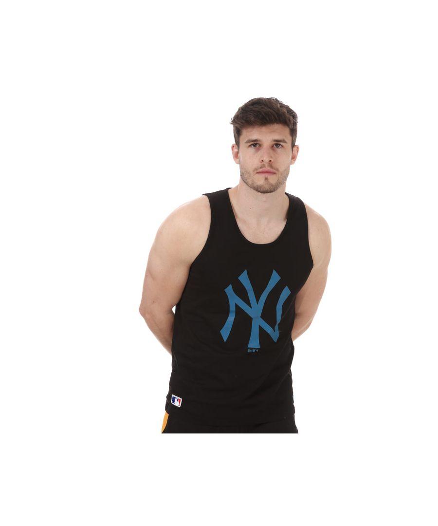 Image for Men's New Era Team Logo New York Yankees Vest in Black